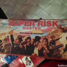 Juegos de mesa: JUEGO ESTRATEGIA SUPER RISK MASTER MUY BUEN ESTADO. Lote 269103868