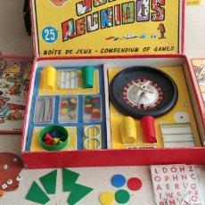 Juegos de mesa: JUEGOS REUNIDOS GEYPER 25 AÑOS 60 MUY COMPLETO. Lote 269214708