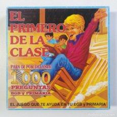Juegos de mesa: EL PRIMERO DE LA CLASE DE FALOMIR ANTIGUO JUEGO DE MESA COMPLETO DE 1987 BORRAS EDUCA CEFA RIMA MB. Lote 269980843