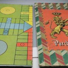 Juegos de mesa: ANTIGUO JUEGO PARCHEESI O PARCHIS SOLO TAPA Y TABLERO. Lote 270380503