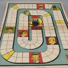 Juegos de mesa: MUY ANTIGUO TABLERO DE JUEGO DE MESA LITOGRAFIA FORUNY. Lote 270382163