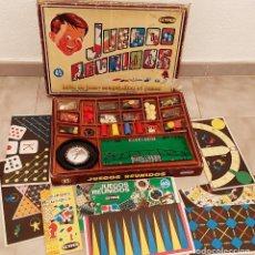 Juegos de mesa: ANTIGUO JUGUETE JUEGOS REUNIDOS 45 DE GEYPER AÑOS 60 COMPLETO INSTRUCCIONES. Lote 270576023
