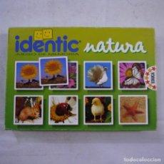 Giochi da tavolo: JUEGO DE MEMORIA IDENTIC NATURA - EDUCA - 1991. Lote 271653358