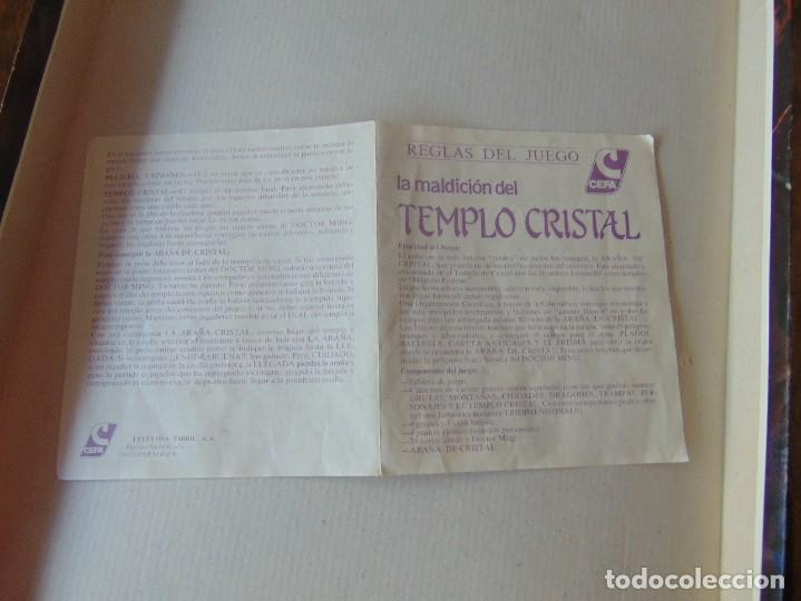 Juegos de mesa: JUEGO DE MESA ,LA MALDICION DEL TEMPLO DE CRISTAL DE CEFA - Foto 13 - 272255958