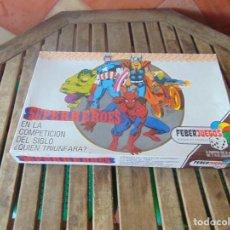 Juegos de mesa: JUEGO DE MESA ,SUPER HEROES ,SUPERHEROES DE FEBER FEBERJUEGOS. Lote 272256488