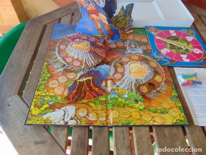 Juegos de mesa: JUEGO DE MESA ,MASTERS DEL UNIVERSO DE DISET LA VENTANA FANTASTICA EN LA TERCERA DIMENSION - Foto 9 - 272256733