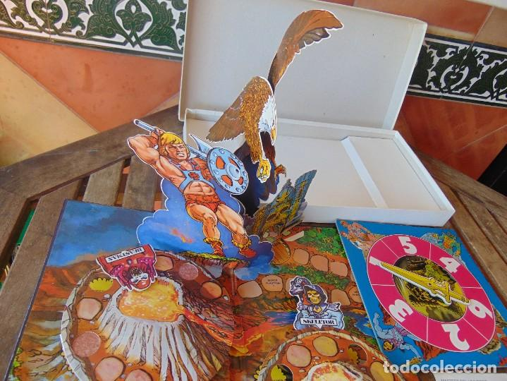 Juegos de mesa: JUEGO DE MESA ,MASTERS DEL UNIVERSO DE DISET LA VENTANA FANTASTICA EN LA TERCERA DIMENSION - Foto 10 - 272256733