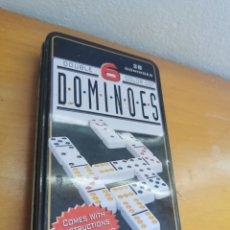 Juegos de mesa: DOMINO EN CAJA DE LATA. Lote 272745058