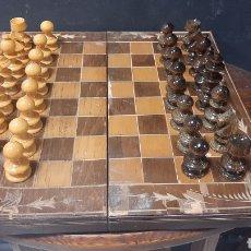 Jogos de mesa: JUEGO DE AJEDREZ DE MADERA COMPLETO. Lote 272894828