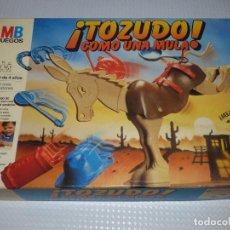 Juegos de mesa: TOZUDO,COMO UNA MULA.MB.. Lote 273175658
