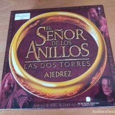 Juegos de mesa: EL SEÑOR DE LOS ANILLOS - LAS DOS TORRES - AJEDREZ (CAVA CARDONER) - MUY RARO. Lote 273515838