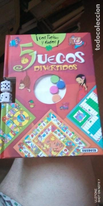 5 JUEGOS DIVERTIDOS DE SUSAETA (Juguetes - Juegos - Juegos de Mesa)