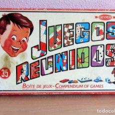 Giochi da tavolo: 35 JUEGOS REUNIDOS GEYPER EN MUY BUEN ESTADO INSTRUCCIONES ESPAÑOL Y FRANCES. Lote 275892618