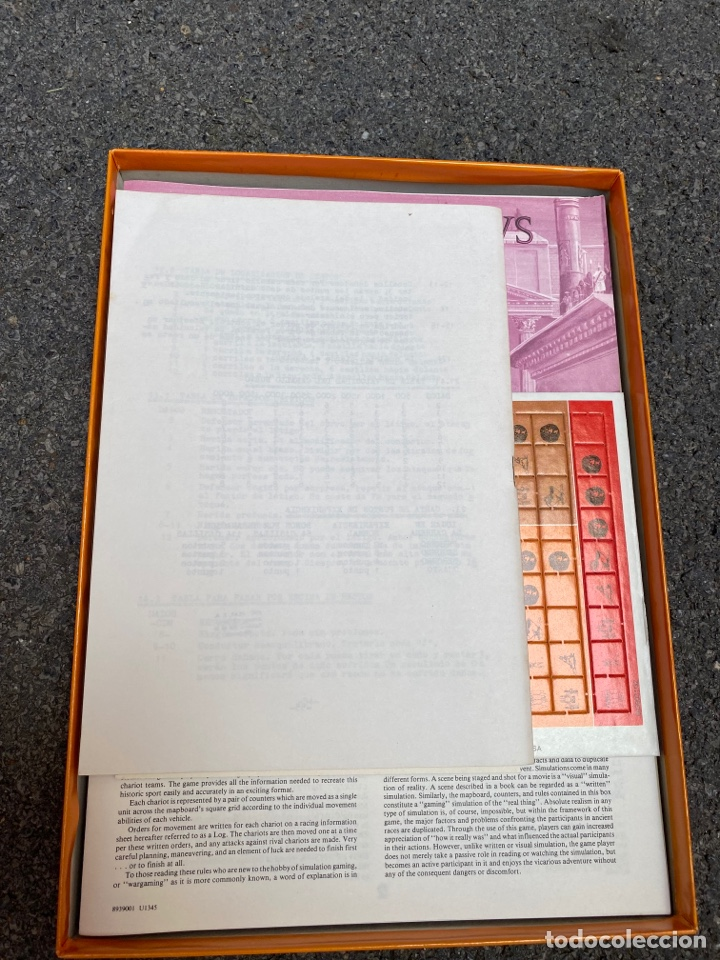 Juegos de mesa: Circus Maximus de Avalon Hill 1980 - Foto 2 - 276055958