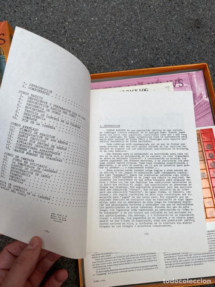 Juegos de mesa: Circus Maximus de Avalon Hill 1980 - Foto 3 - 276055958