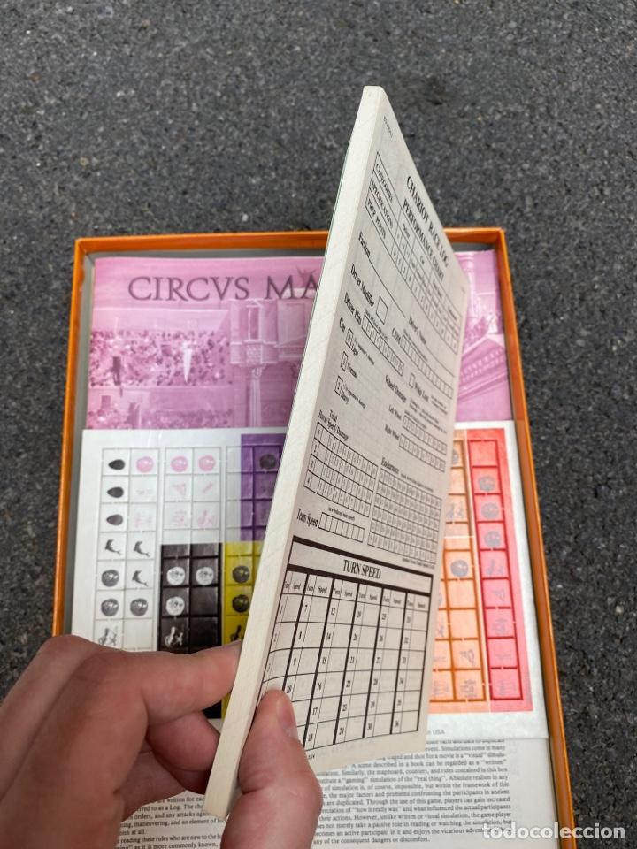 Juegos de mesa: Circus Maximus de Avalon Hill 1980 - Foto 5 - 276055958