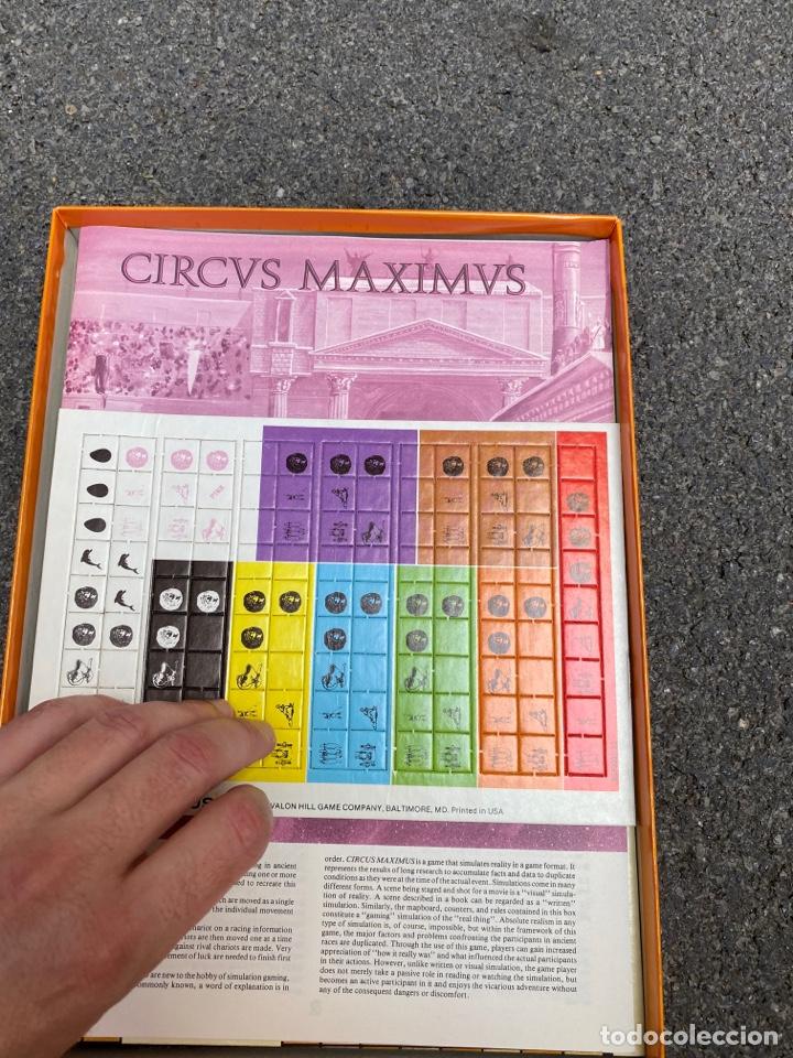 Juegos de mesa: Circus Maximus de Avalon Hill 1980 - Foto 6 - 276055958