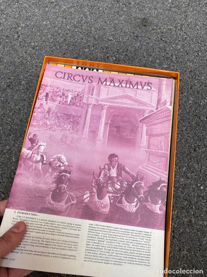 Juegos de mesa: Circus Maximus de Avalon Hill 1980 - Foto 7 - 276055958