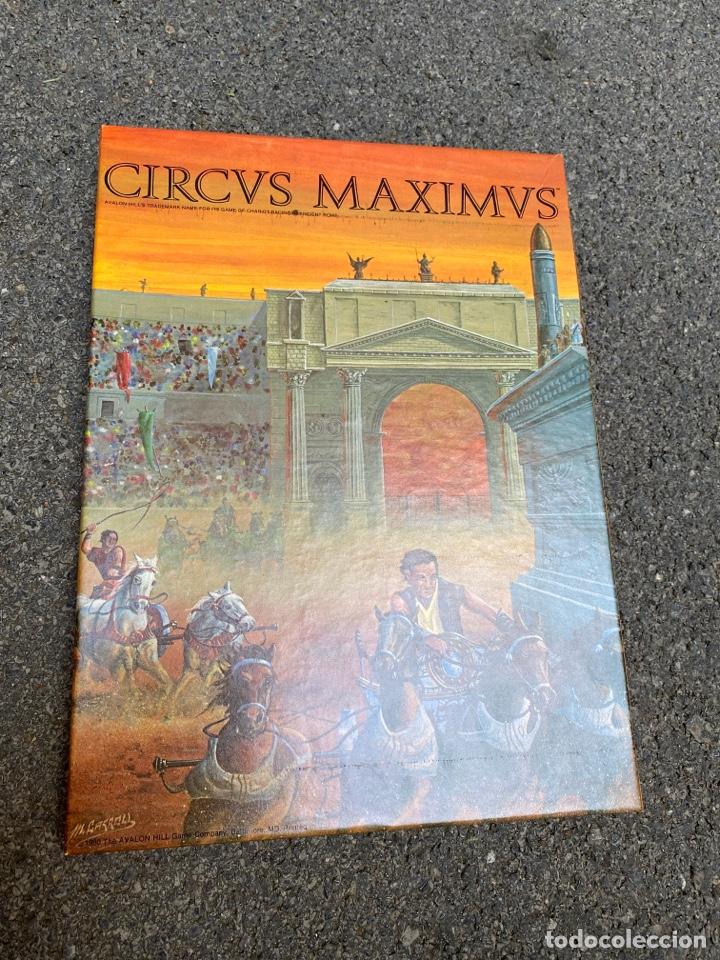 CIRCUS MAXIMUS DE AVALON HILL 1980 (Juguetes - Juegos - Juegos de Mesa)