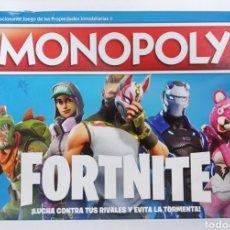 Juegos de mesa: MONOPOLY FORTNITE. Lote 276437243