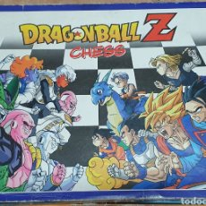 Giochi da tavolo: AJEDREZ COMPLETO DRAGON BALL Z CHESS 1998 BOLA DRAGONBALL PLANETA AGOSTINE GOKU VEGETA CELL FREEZER. Lote 276496593