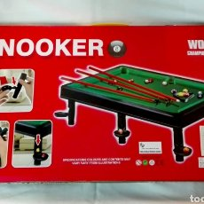 Juegos de mesa: BILLAR SNOOKER. Lote 276593763