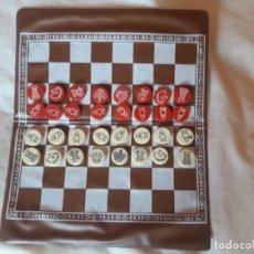 Juegos de mesa: UNICO-AJEDREZ MAGNÉTICO PLASTIGAL DE ARGENTINA-AÑOS 60?. Lote 276675548