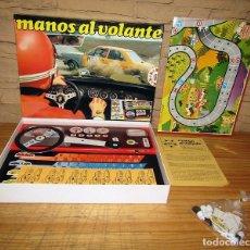 Juegos de mesa: MANOS AL VOLANTE - EDUCA - JUEGO DE MESA - AÑOS 70 - NUEVO A ESTRENAR - PERFECTO ESTADO. Lote 276925403
