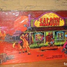 Juegos de mesa: SALOON - BORRAS - JUEGO DE MESA DEL OESTE - NUEVO Y PRECINTADO - 1975. Lote 277059288