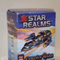 Juegos de mesa: STAR REALMS COLONY WARS - OCASION. Lote 277139933