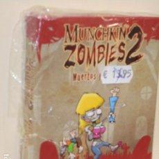 Juegos de mesa: JUEGO MUNCHKIN ZOMIBIES 2 - EXPANSION - OCASION. Lote 277140653