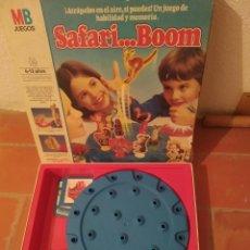 Juegos de mesa: JUEGO SAFARI BOOM. Lote 277498243