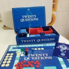 Juegos de mesa: TWENTY QUESTIONS - MB ESPAÑA 1988 - JUEGO DE MESA CASI COMPLETO. Lote 277711968