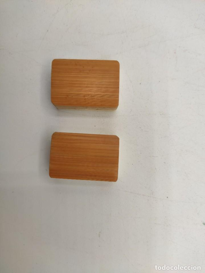 Juegos de mesa: Juego de mesa chino Mah- Jongg, caja en madera tallada con aplicaciones en bronce y fichas en hueso - Foto 7 - 277728558