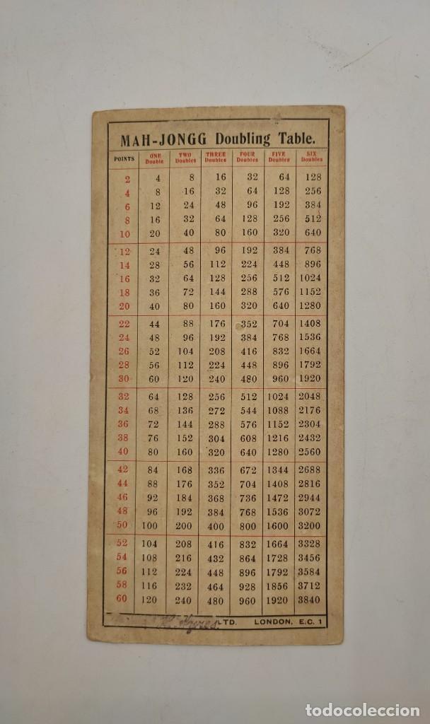 Juegos de mesa: Juego de mesa chino Mah- Jongg, caja en madera tallada con aplicaciones en bronce y fichas en hueso - Foto 22 - 277728558