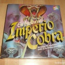 Juegos de mesa: EN BUSCA DEL IMPERIO COBRA CEFA JUEGO DE MESA NUEVO PRECINTADO. Lote 278293843