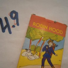 Juegos de mesa: ANTIGUO JUEGO DE CARTAS PAREJAS ROBIN HOOD NUEVAS SIN USAR. Lote 279567793
