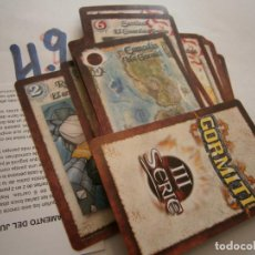 Juegos de mesa: ANTIGUO JUEGO DE CARTAS GORMITI NUEVAS SIN USAR. Lote 279568028