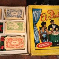 Juegos de mesa: ANTIGUO JUEGO DE EL PALÉ CASA Y HOTELES DE MADERA. USADO. ANTIGUO DEL AÑO 1960. Lote 279569648