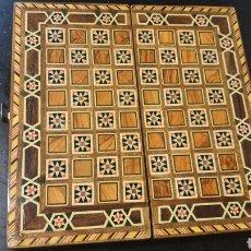 Juegos de mesa: ESTUCHE/ AJEDREZ DE TARACEA. Lote 279570283