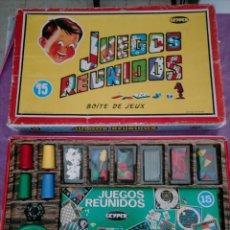 Juegos de mesa: JUEGOS REUNIDOS GEYPER - Nº 15 SIN USAR COMPLETO NUEVO VER FOTO. Lote 279578388