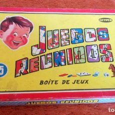 Juegos de mesa: JUEGOS REUNIDOS GEYPER 15 - COMPLETOS CON TODO ORIGINAL Y EN MUY BUEN ESTADO - 1968. Lote 279582053