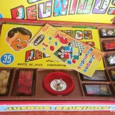 Juegos de mesa: JUEGOS REUNIDOS GEYPER 35 - TODO ORIGINAL Y EN BUEN ESTADO - 1978. Lote 280189428