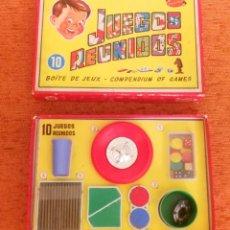 Juegos de mesa: JUEGOS REUNIDOS GEYPER 10 - 1960 - COMPLETOS - CON TODO ORIGINAL Y EN BUENÍSIMO ESTADO 1. Lote 281853528