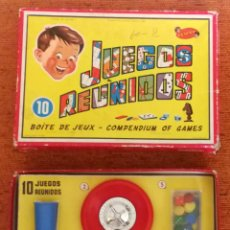 Juegos de mesa: JUEGOS REUNIDOS GEYPER 10 - 1960 - ORIGINAL Y EN BUEN ESTADO 3. Lote 281872443