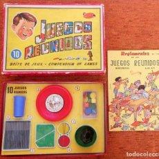 Juegos de mesa: JUEGOS REUNIDOS GEYPER 10 - 1960 - COMPLETOS - TODO ORIGINAL Y EN EXCELENTE ESTADO 2. Lote 281890778