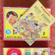 Juegos de mesa: JUEGOS REUNIDOS GEYPER 15 - 1960 - COMPLETOS - CON TODO ORIGINAL Y EN BUENÍSIMO ESTADO. Lote 284249373