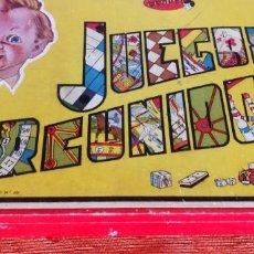 Juegos de mesa: JUEGOS REUNIDOS GEYPER 0E - 1958 - COMPLETOS - CAJA MADERA - TODO ORIGINAL Y EN EXCELENTE ESTADO. Lote 284256758