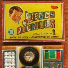 Juegos de mesa: JUEGOS REUNIDOS GEYPER 30 - 1960 - TODO ORIGINAL Y EN MUY BUEN ESTADO. Lote 284350943