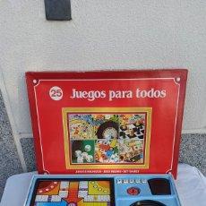 Jogos de mesa: JUEGOS REUNIDOS PARA TODOS 25 SANTA ELENA. Lote 285125133